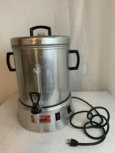 Vintage-Enterprise-Coffee-Percolator-48-cup-Urn-Model-AP-48-In-good-condition