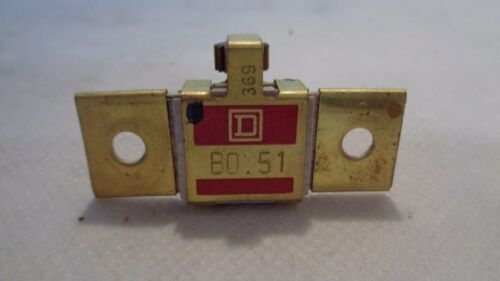 NEW IN BOX SQUARE D  1-B0.51 OVERLOAD HEATER