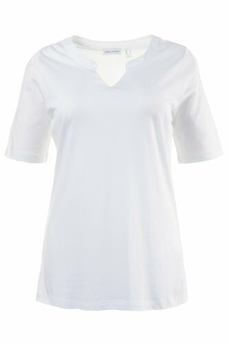 Gina Laura/% sale/% camisa regular Weiss nuevo
