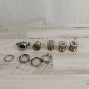 Lot of Corbin Russwin Mortise Cylinders & Parts