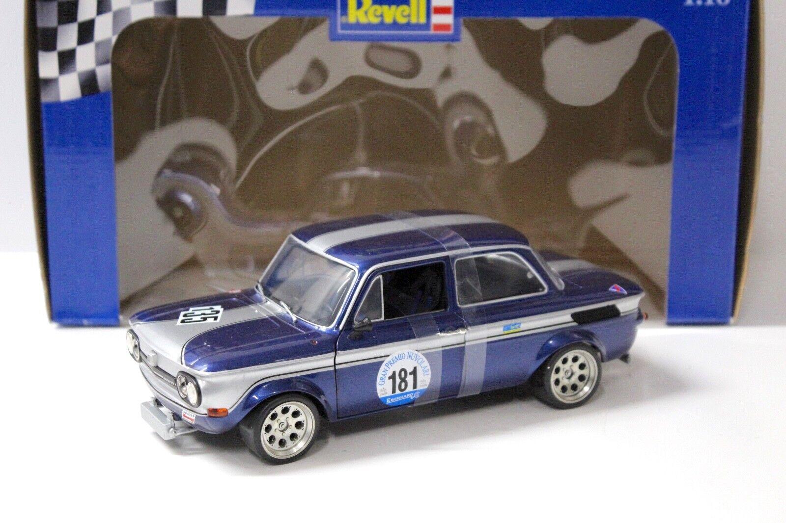 1 18 Revell NSU TT Cup blu;181 Gran Premio NUVOLARI NUOVO in auto a modellololo Premium