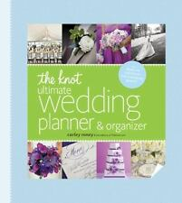 The Knot Ultimate Wedding Planner and Organizer by Carley Roney (2013, Hardcover)