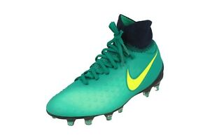 design de qualité 06cbb 75d36 Détails sur Nike Junior Magista Obra II Godasses de Football Fg 844410  Crampons 375