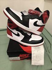 ed95912cdc5259 item 2 Nike Air Jordan 1 Black Toe 2016 Retro High OG W Receipt 555088-125  DS SZ 11.5 -Nike Air Jordan 1 Black Toe 2016 Retro High OG W Receipt 555088- 125 ...