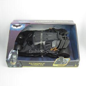 New-Batman-Car-Dark-Knight-Batmobile-Tumbler-Vehicle-Black-Figure-Color-Box-Gift