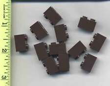 LEGO x12 Dark Brown Brick 1 x 2 NEW bulk lot 4195 rare from Queen Anne's Revenge