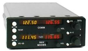 MICHEL-SLIDE-IN-REPLACEMENT-RADIO-MX385-FREE-SHIPPING-Aviation-Radio