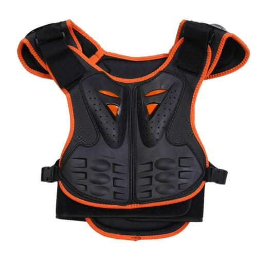 SULAITE Youth Child Kid Bike Reflective Armor Body Chest Spine Protection Gear