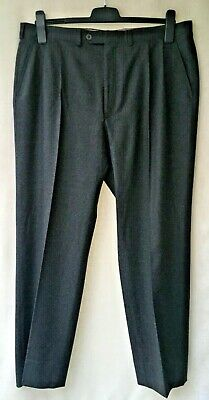 Austin Reed Chester Barrie Men S Wool Trousers 38w 30 5il Pleated Waist Ebay