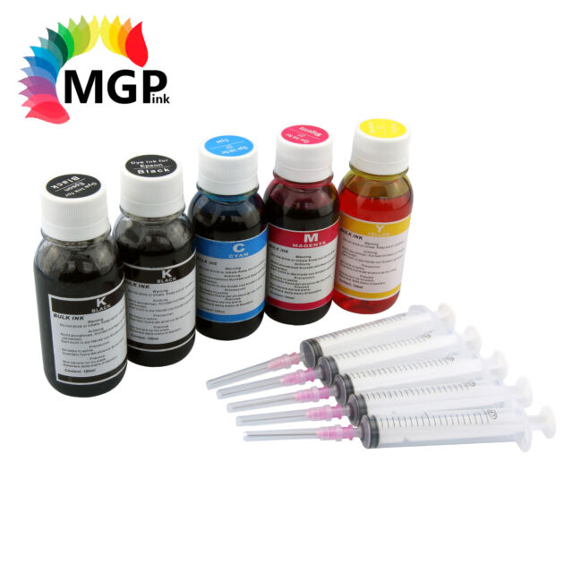 5x 100ml Refill Ink for Epson 273XL 273 XP600 XP700 XP800 2730-2734 Printer
