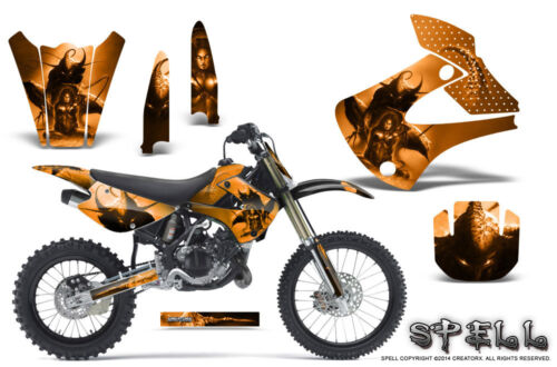 Kawasaki KX85 KX100 20012013 Graphics Kit CREATORX Decals SPELL O