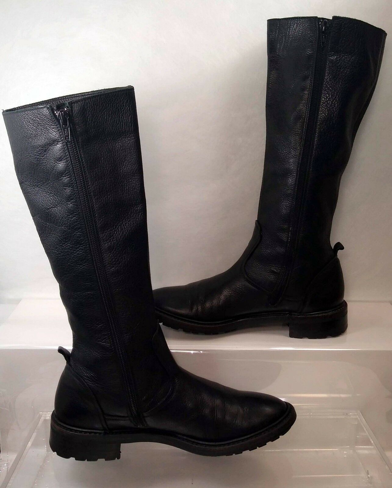 All Red Brand  Biker Boots Women US 9    Made In   Rare ca3627