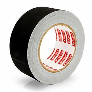 3 inch by 30 yards Main Stage Gaff Tape Black Gaffers Tape Matte-finish