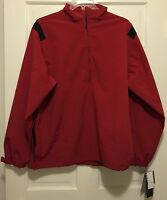 Wp Golf Weatherproof Technology Uv Vodka 1/2 Zip Jacket Soft Shell Red Xl