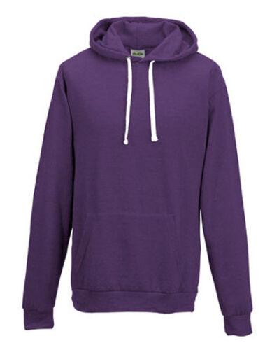 AWD Just Hoods Heather Hoodie Hooded Sweater Kapuzenpullover