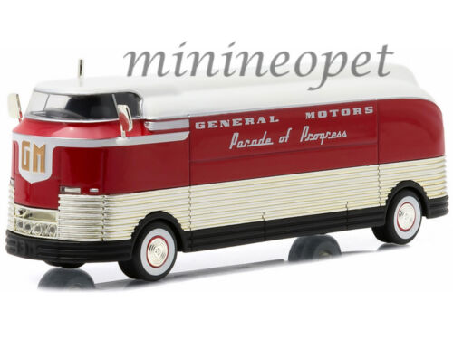 GREENLIGHT 29832 1940 PARADE OF PROGRESS GM GENERAL MOTORS FUTURLINER 1//64 RED