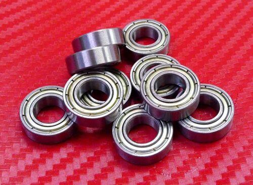 Chrom Metallabschirmung Kugellager 8 16 4 10 Stück 688zz Breite 4mm 8x16x4 mm