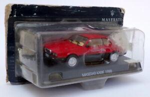 ALTAYA AUTO modello IN SCALA 1/43 AL26320E - 1988 MASERATI Karif-Rosso