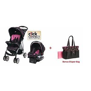 Baby trend jogging stroller and graco car seat baby strollers - Graco Baby Stroller Car Seat Travel System Bonus Diaper