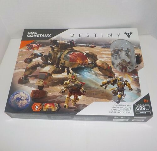 Mega Bloks Destiny FALLEN WALKER DPJ13 New~Sealed Ages 8+