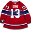 MAX-DOMI-MONTREAL-CANADIENS-HOME-AUTHENTIC-PRO-ADIDAS-NHL-JERSEY thumbnail 1