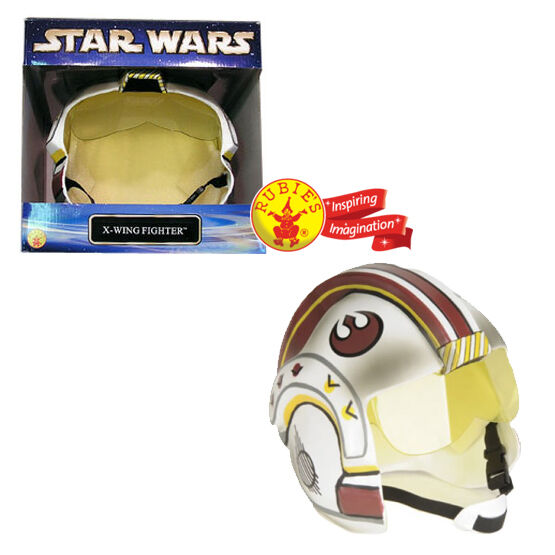 STAR WARS RUBIES CLASSIC X-Wing Fighter Pilot Adult Collector Helmet BRAND NEW