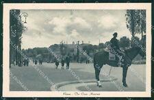 Roma Città Via Circo Massimo Cavallo cartolina QT2023