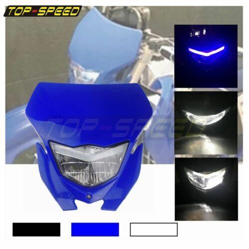 Supermoto Dirt Bike Headlight Head Light For Yamaha WR250R WR250X WR250F WR450F
