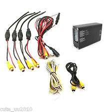 Car 360° Cameras Image Switch Control Box for Front/Rear/Left/Right View Parking