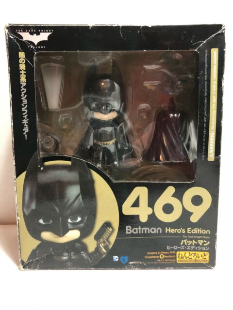 Nendoroid #469 Batman Hero/'s Edition Figure Free Shipping NEW