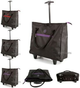 Image Is Loading Lightweight Wheeled Ping Tote Cabin Bag Trolley Airline