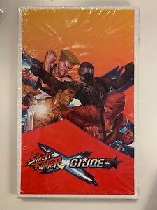 IDW STREET FIGHTER X G.I. JOE #1 BOX SET : BRAND NEW/SHRINKWRAPPED