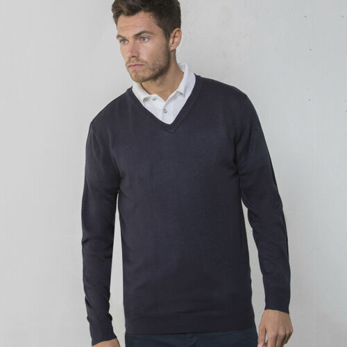 RTY Homme Soft-feel v-Cou Pull RTY023-Hiver à manches longues acrylique pull