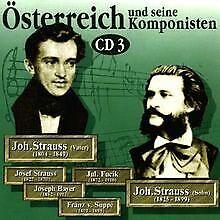 Österreich und seine Komponisten Vol. 3 (Strauß-Famil...   CD   Zustand sehr gut