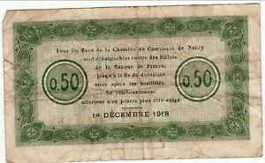 Analytique Chambre De Commerce De Nancy 50 Centimes