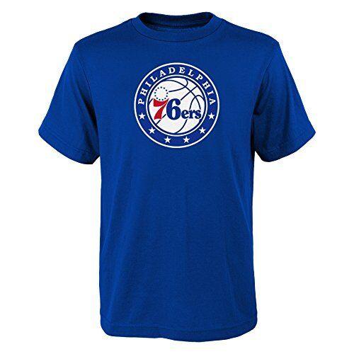 YOUTH Philadelphia 76ers NBA primary logo T Shirt Blue