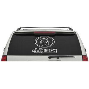 San-Francisco-49ers-Logo-Name-Wordmark-Window-Door-Car-Truck-Vinyl-Sticker-V03