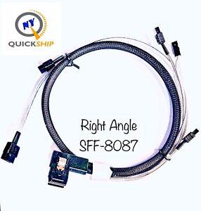 LOT-2x-Mini-SAS-to-4-SATA-SFF-8087-36-Pin-Multi-Lane-Forward-Breakout-Raid-Cable