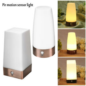 Image Is Loading Pir Motion Sensor Battery Operated Led Night Light