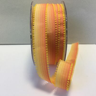 "Shades of Brown 1//2/"" Ombre Looped Edges Ribbon May Arts 5 yds. QK19"
