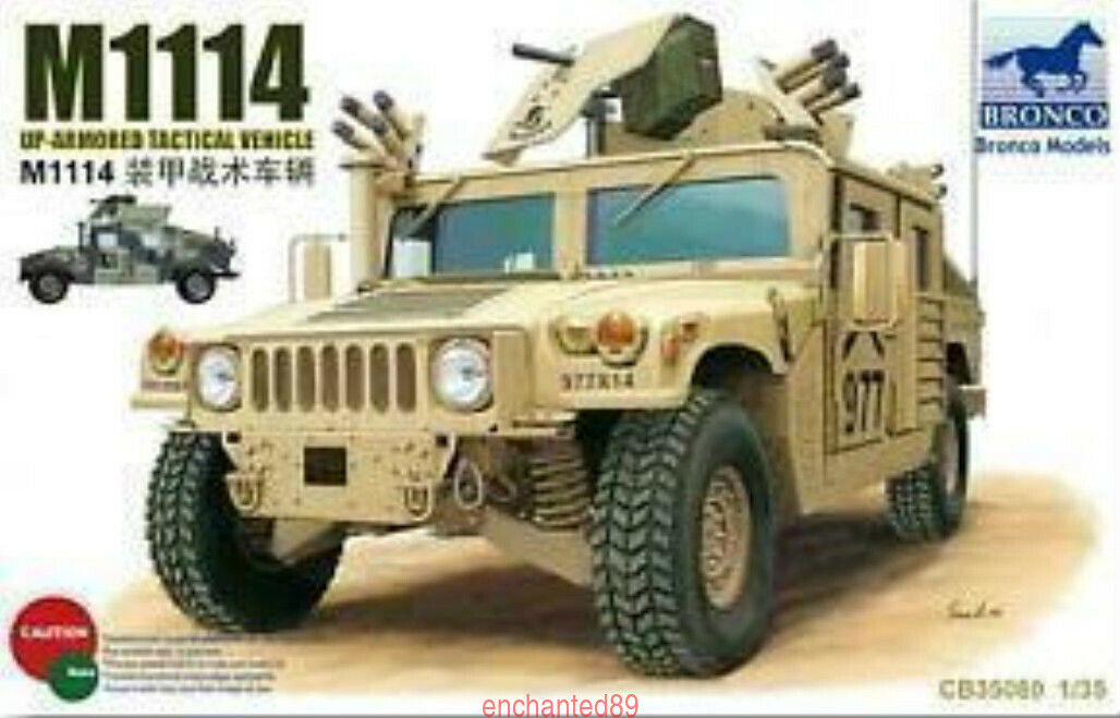 Bronco 1 35 35080 M1114 Up Armored Tactical Vehicle