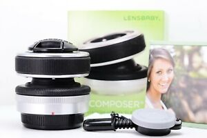 Lensbaby-Composer-pour-Olympus-Panasonic-Leica-4-3-IN-Mint-Conditions