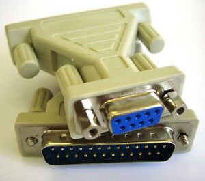 Serial-Cable-Port-Adapter-RS232-Gender-Changer-DB9-Female-to-DB25-Male