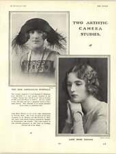 1922 Gwendolyn Marshall Lady Mary Thynne Lord Rocksavage