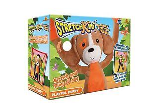 Stretchkins-Puppy-Childs-Kids-Cuddly-Soft-Stretchable-Toy-3-Yrs-Plus-BRAND-NEW