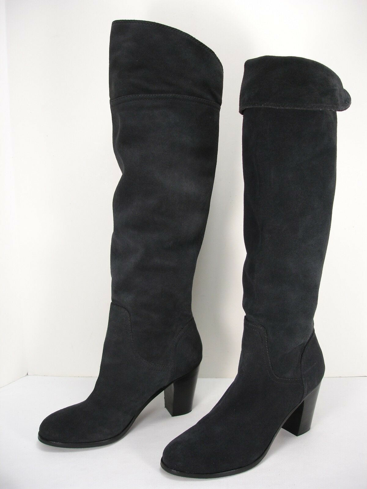 alta qualità APEPAZZA EDVIGE SUEDE PULL PULL PULL ON KNEE HIGH OVER THE KNEE stivali donna 9.5 M  vendita outlet online
