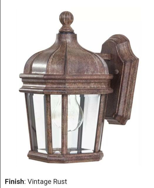 Minka Lavery Great Outdoors Vintage Rust Outdoor Light Lantern 8690 61