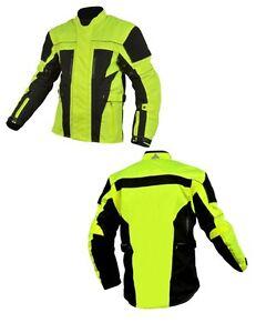 Hi-viz-Cordura-Waterproof-Motorcycle-Motorbike-Racing-Textile-Jacket-Waterproof