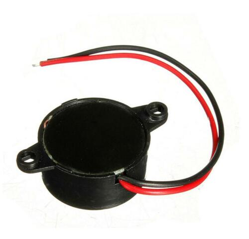 6-15V Piezo Electronic Tone Buzzer Alarm Continuous Sound Mounting Hole SE
