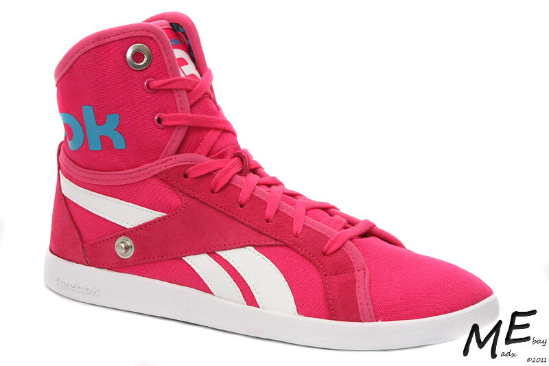 New Reebok TOP DOWN SNAPS TXT Women Fashion Sneakers Sz. 9.5 -  V55473 Pink